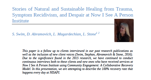Stories of Natural and Sustainable Healing from Trauma